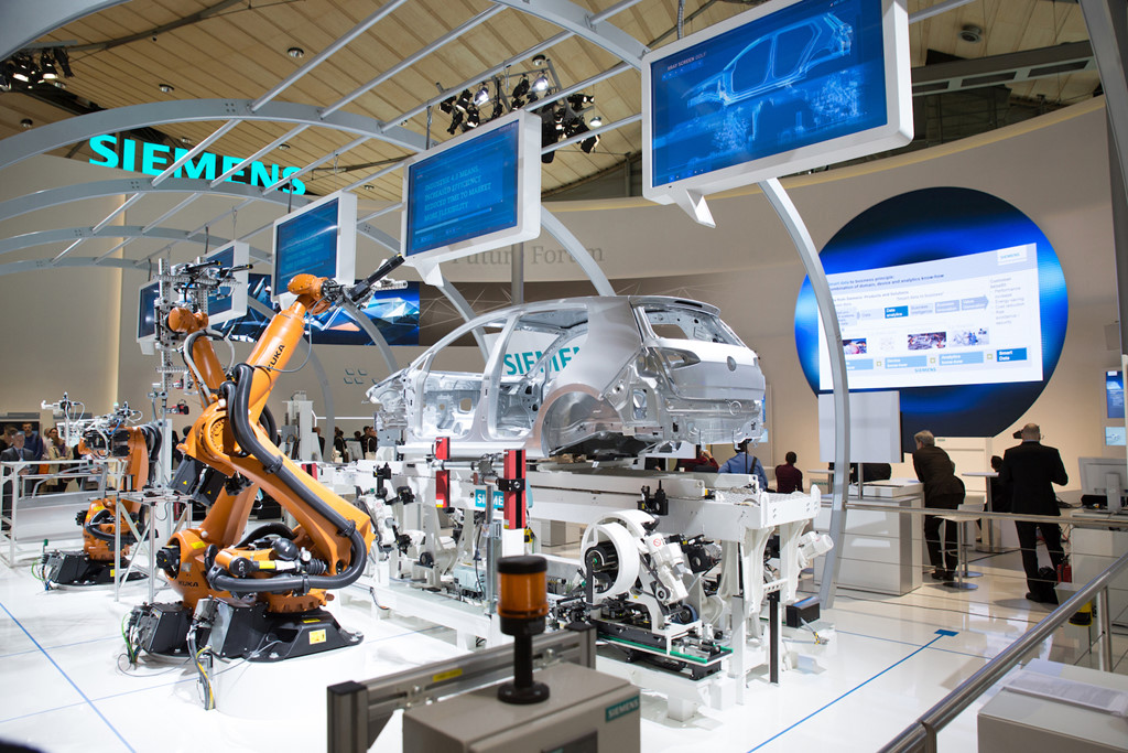 Machinery will push millions of workers into unemployment. Photo: Siemens.