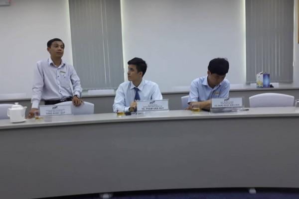 Representative of Ton Duc Thang University