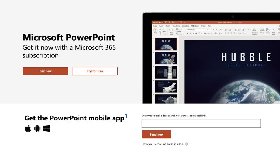 Microsoft PowerPoint is packed with innovative presentation features (Image credit: Microsoft)
